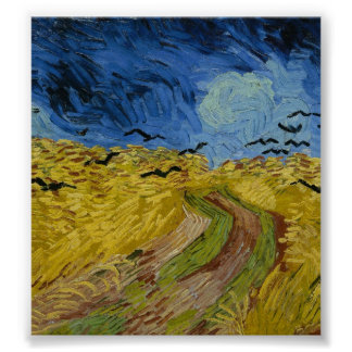 Vincent van Gogh - Wheatfield with crows Print
