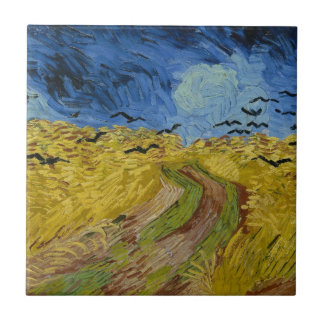 Vincent van Gogh - Wheatfield with crows Tile