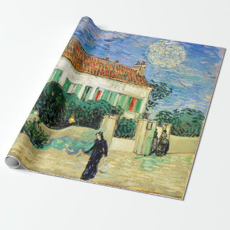 Vincent van Gogh White House at Night Wrapping Paper