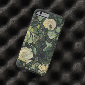 Vincent Van Gogh White Roses Floral Vintage Tough iPhone 6 Case