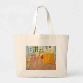 Vincent Van Gogh's Bedroom in Arles Canvas Bag