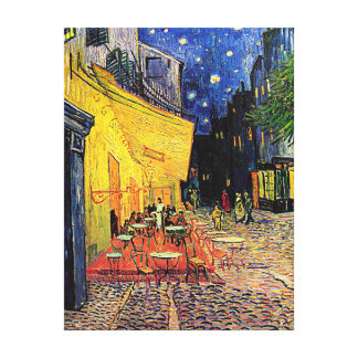 Vincent Van Gogh's 'Cafe Terrace' Canvas Print