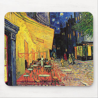 Vincent Van Gogh's 'Cafe Terrace' Mousepad