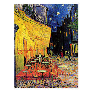Vincent Van Gogh's 'Cafe Terrace' Postcard