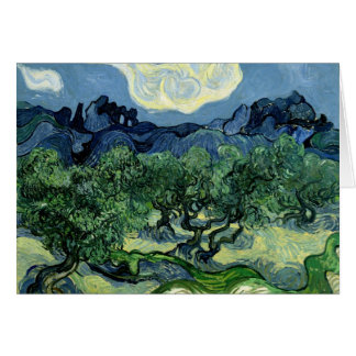 Vincent van Gogh's Olive Trees (1889) Card
