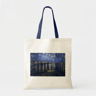Vincent van Gogh's Starry Night over the Rhone Canvas Bag