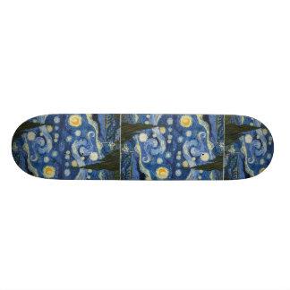 Vincent Van Gogh's Starry Night Skateboard Deck