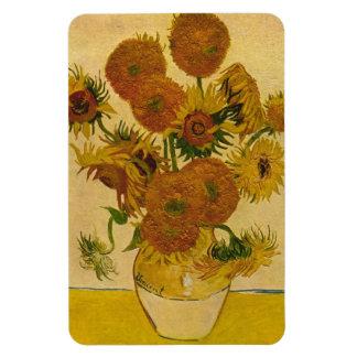 Vincent van Gogh's Sunflowers, 1878 Rectangular Photo Magnet