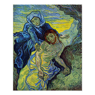 Vincent Van Gogh's 'The Pieta' Poster