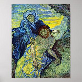 Vincent Van Gogh's 'The Pieta' Poster