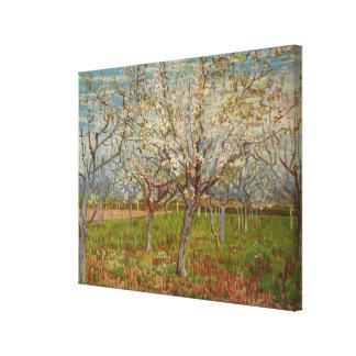 "Vincent van Gogh's ""The Pink Orchard"" (1888) Canvas Print"