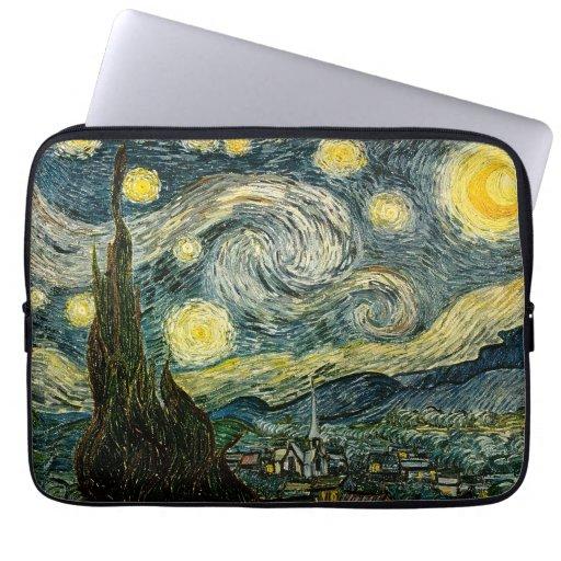 Vincent van Gogh's The Starry Night (1889) Laptop Computer Sleeve