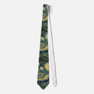 Vincent van Gogh's The Starry Night (1889) Tie