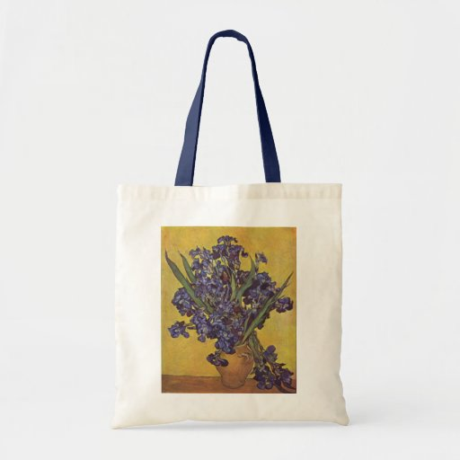 Vincent Willem Van Gogh Iris flowers Bag