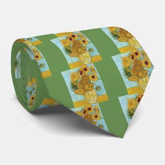 "Vincent Willem van Gogh, ""Sunflowers"" Tie"