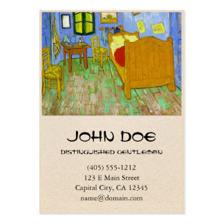 Vincent's Bedroom in Arles by Vincent Van Gogh Pack Of Chubby Business Cards