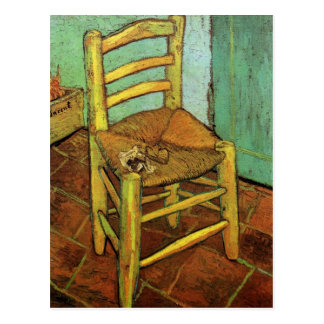 Vincent's Chair with His Pipe by Vincent van Gogh Postcard