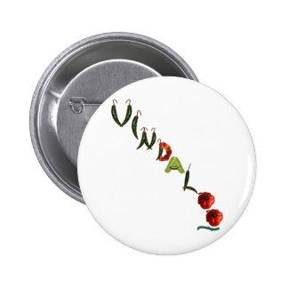 Vindaloo Chili Peppers Pinback Button