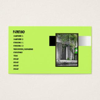 Vine Door Business Card