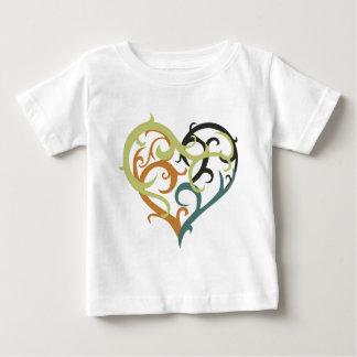 vine heart sea foam tee shirts