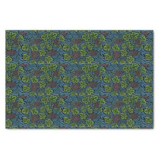 Vine in Blue, vintage Morris pattern Tissue Paper