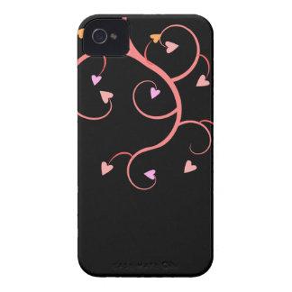 Vine of Hearts iPhone 4 Case-Mate Case