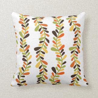 Vine Print Square Pillow Cushions