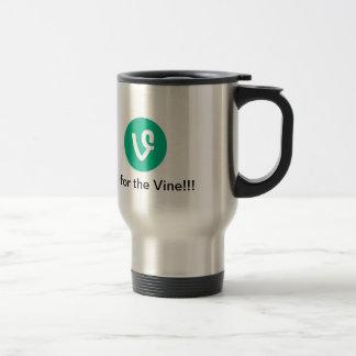 Vine Stainless Steel Travel Mug