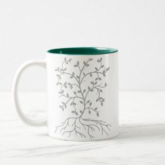 Vine Two-Tone Mug