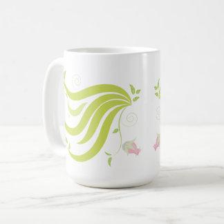 Vine with Flower Coffee Mug