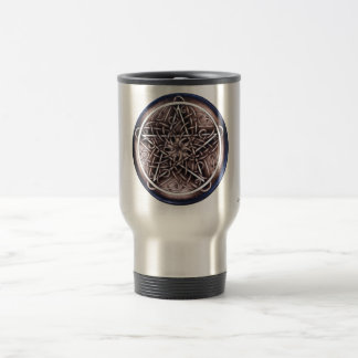 Vines and Storm Pentacle Travel Mug