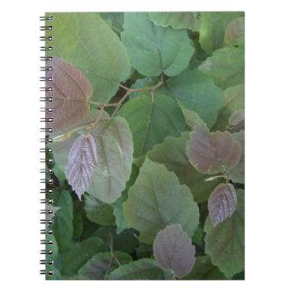Vines Spiral Notebooks