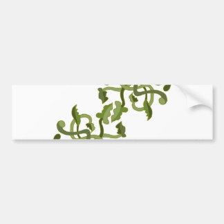 Vines Olive Green Nature Natural World Bumper Sticker