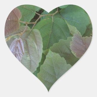 Vines Heart Stickers