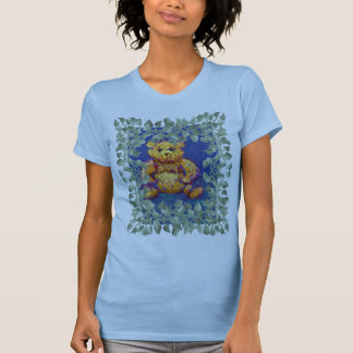 Vines w/ Teddy Bear Tshirt CricketDiane Design