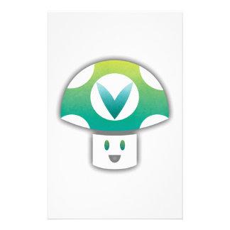 Vinesauce Mushroom Customized Stationery