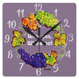 Vineyard clock