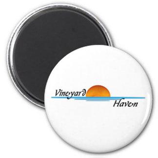 Vineyard Haven 6 Cm Round Magnet