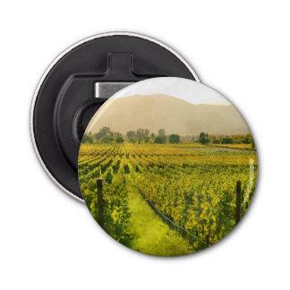 Vineyard in Autumn in Napa Valley California Bottle Opener
