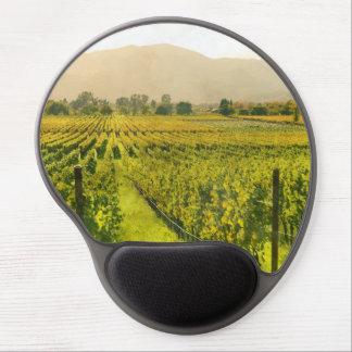 Vineyard in Autumn in Napa Valley California Gel Mouse Pad