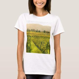 Vineyard in Autumn in Napa Valley California T-Shirt