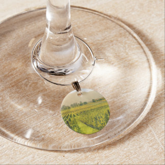 Vineyard in Autumn in Napa Valley California Wine Charm