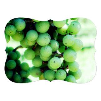 Vineyard in France 13 Cm X 18 Cm Invitation Card