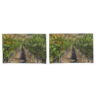 Vineyard in Napa Valley California Pillowcase