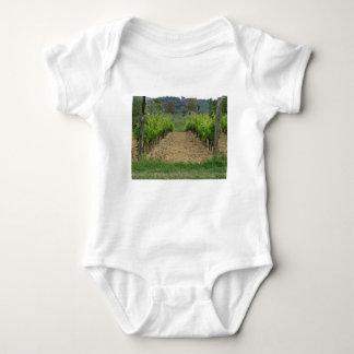 Vineyard in spring . Tuscany, Italy Baby Bodysuit