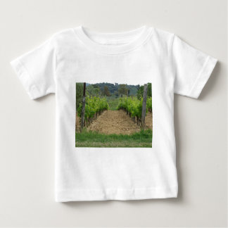 Vineyard in spring . Tuscany, Italy Baby T-Shirt