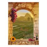 Vineyard Wine Themed Fall Bridal Shower Invitation