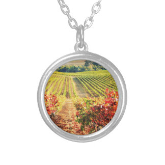 VINEYARDS.JPG SILVER PLATED NECKLACE