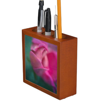 Vining Geranium Bud, Digitally Altered Desk Organisers