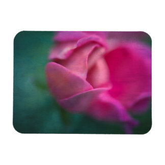 Vining Geranium Bud, Digitally Altered Rectangular Photo Magnet